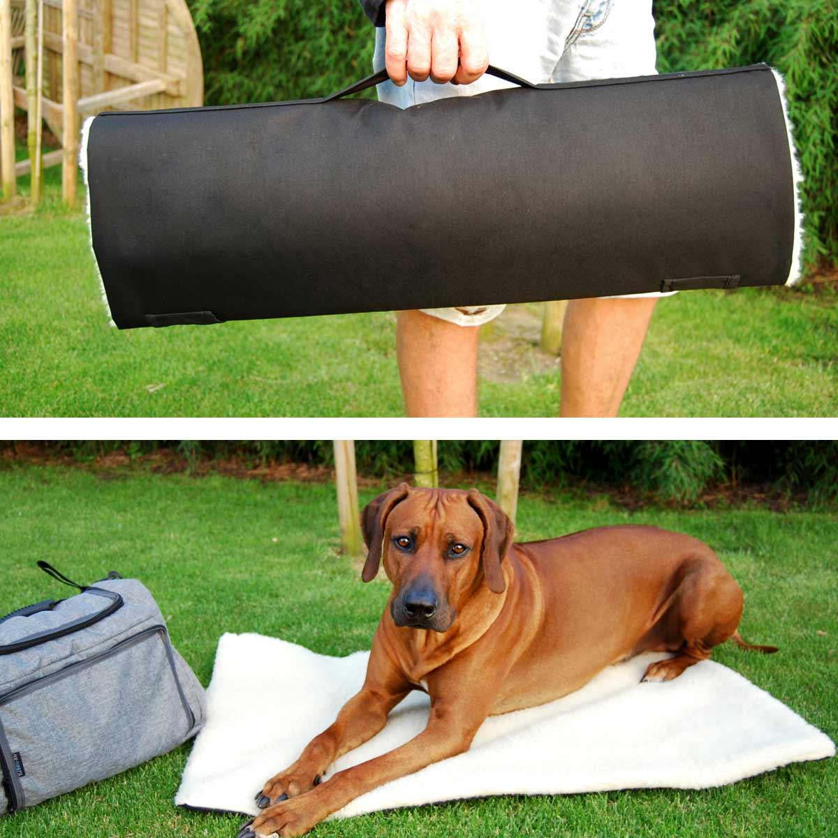 joodog MOVE - Praktische Rolldecke für unterwegs, wasserabweisend, Orthopädische Hundematte, Hundebetten Grosshandel, Wholesale.